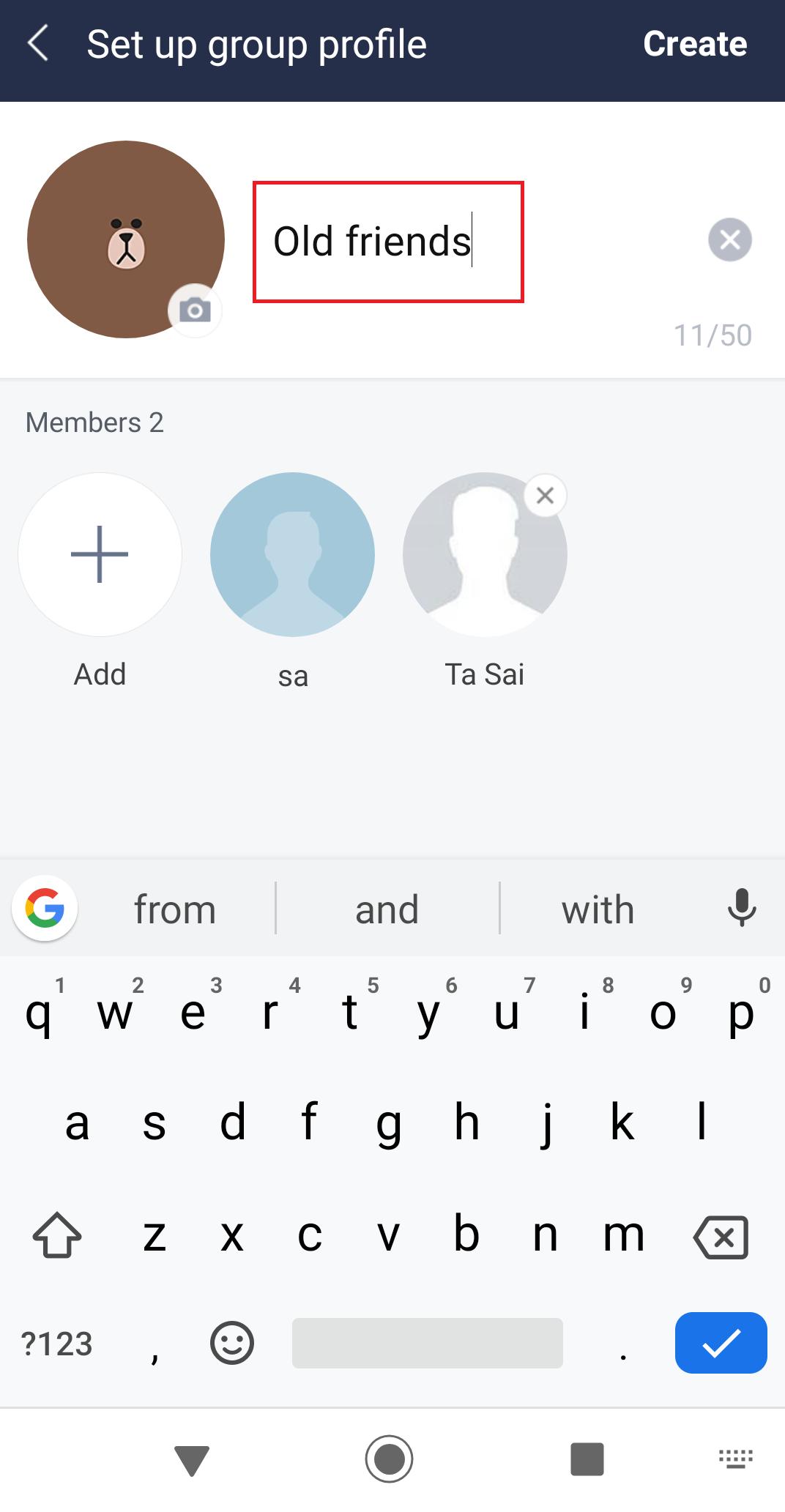 line app id erstellen